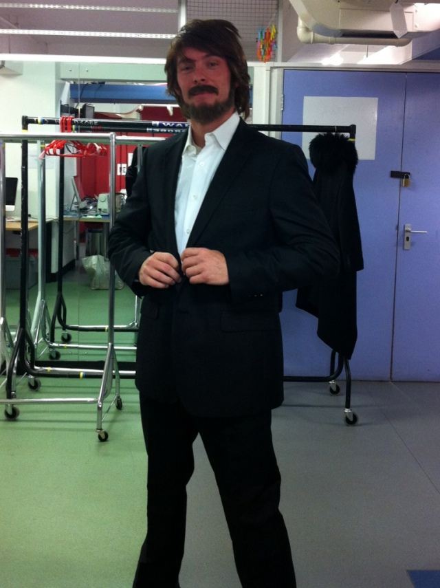 Jonathan Ross Stunt Double - Mike Wilson