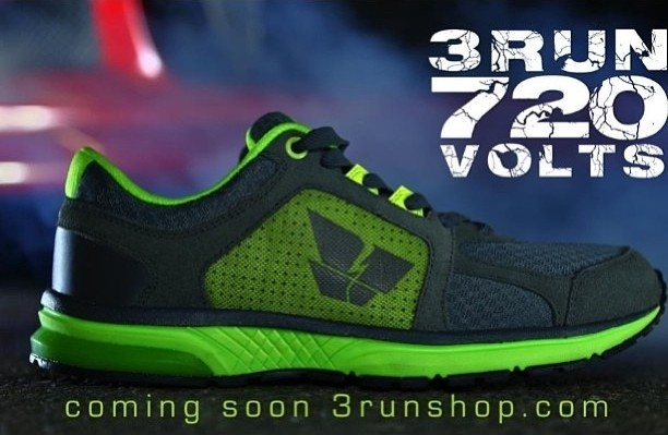 3RUn 720 Volt Freerunning Trainers