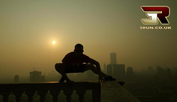 Sunset of India - Professional Free Runner Michael Wilson