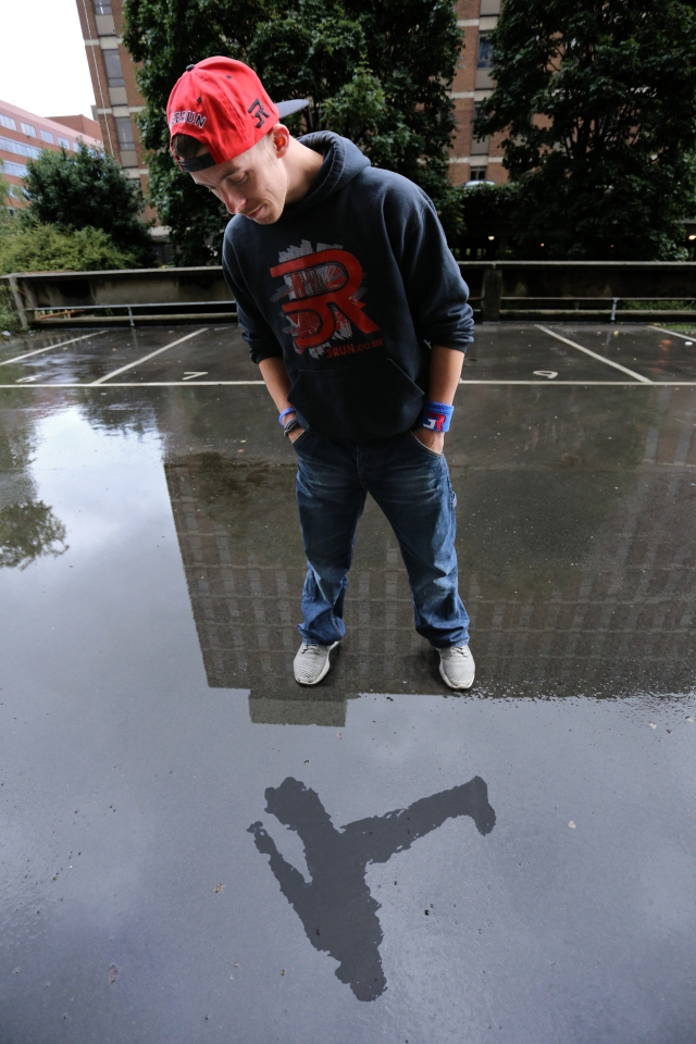 Mike Wilson Professional Freerunner Reflection Photography
