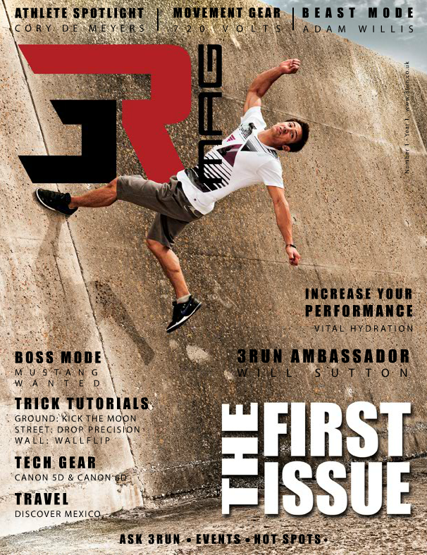 3RUN Online Magazine - 1st Edition