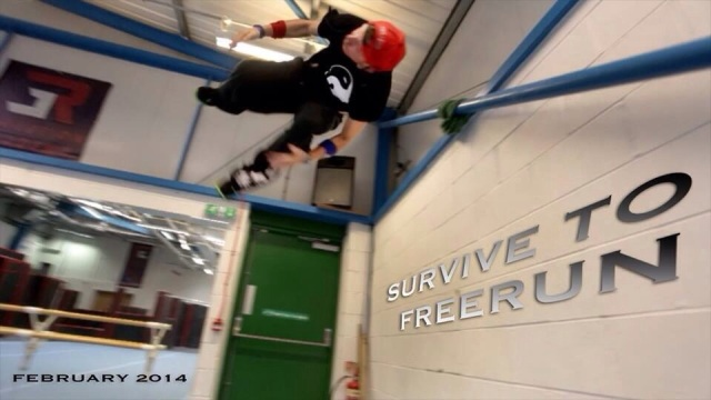 Survive To Freerun featuring Parkour, Freerunning and Creative Movement